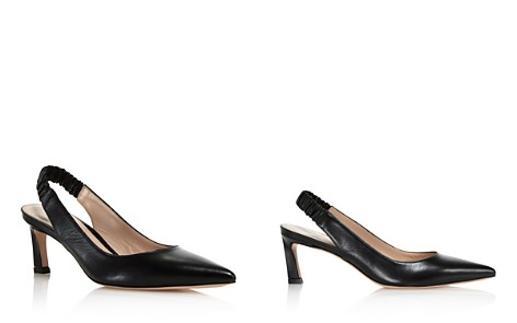 Stuart Weitzman Women's Hayday Leather Slingback Pointed Toe Pumps - Bloomingdale's_2
