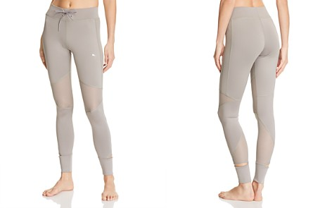 PUMA En Pointe Mesh-Inset Leggings - Bloomingdale's_2