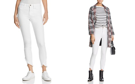 Joe's Jeans The Charlie Ankle Tulip-Hem Jeans in Hennie - Bloomingdale's_2