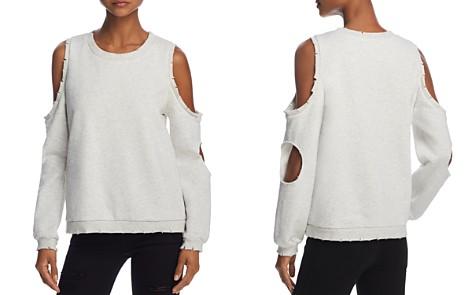 Honey Punch Cold-Shoulder Cutout Sweatshirt - Bloomingdale's_2