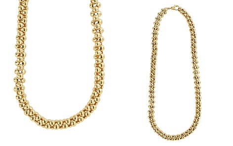 "LAGOS Caviar Gold Collection 18K Gold Beaded Necklace, 17"" - Bloomingdale's_2"