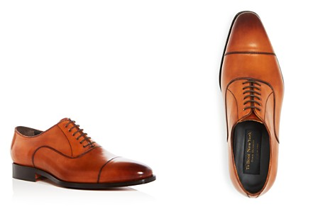 To Boot New York Men's Knoll Leather Cap Toe Oxfords - Bloomingdale's_2