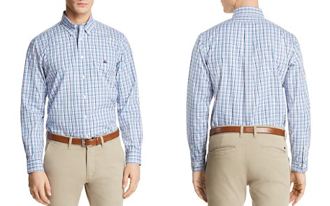 Brooks Brothers Pinpoint Plaid Long Sleeve Button-Down Shirt - Bloomingdale's_2
