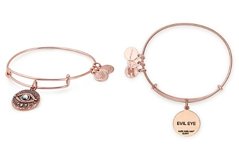 Alex and Ani Evil Eye Expandable Wire Bangle - Bloomingdale's_2