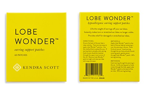 Kendra Scott Lobe Wonder™ Earring Support Patches - Bloomingdale's_2