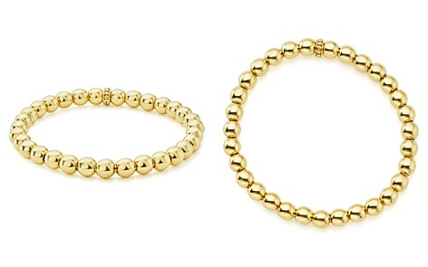 LAGOS Caviar Gold Collection 18K Gold Beaded Bracelet, 6mm - Bloomingdale's_2