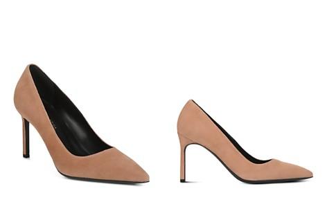 Via Spiga Women's Nikole Suede Pointed Toe High-Heel Pumps - Bloomingdale's_2