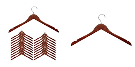 Honey Can Do Cherry Wood Shirt Hanger, Set of 20 - Bloomingdale's_2