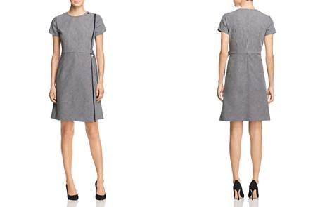 BOSS Hadiana Striped Faux-Wrap Dress - Bloomingdale's_2