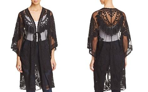 En Créme Lace Kimono Jacket - 100% Exclusive - Bloomingdale's_2