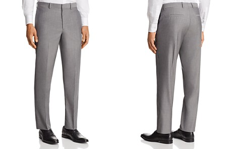 Theory Marlo Tailored Gingham Slim Fit Suit Pants - Bloomingdale's_2