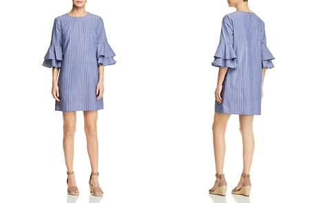 BeachLunchLounge Striped Tiered Bell Sleeve Dress - Bloomingdale's_2