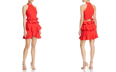 Do and Be Ruffled Cutout Dress - 100% Exclusive - Bloomingdale's_2