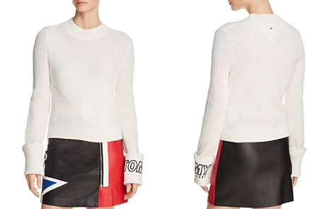 Tommy Jeans Diagonal Stitch Sweater - 100% Exclusive - Bloomingdale's_2