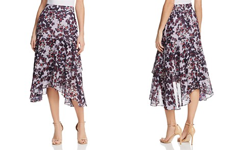 Whistles Asymmetric Floral Skirt - 100% Exclusive - Bloomingdale's_2