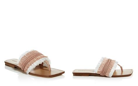Sigerson Morrison Women's Avis Raffia Thong Sandals - Bloomingdale's_2