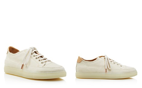 Pairs in Paris Women's Canvas Low Top Lace Up Sneakers - 100% Exclusive - Bloomingdale's_2
