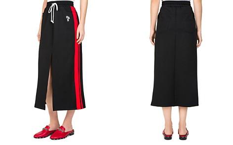The Kooples Side-Stripe Slit Skirt - Bloomingdale's_2