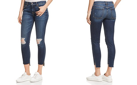 7 For All Mankind Ankle Skinny Jeans in Midnight Desert 2 - Bloomingdale's_2
