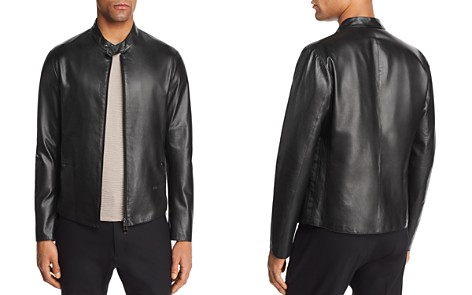 Emporio Armani Leather Jacket - Bloomingdale's_2