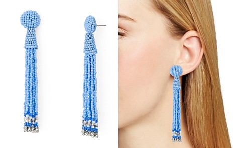 AQUA Fringe Drop Drop Earrings - 100% Exclusive - Bloomingdale's_2