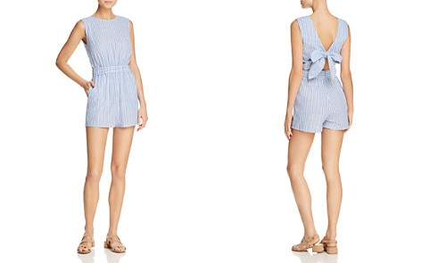 PPLA Kingsley Striped Tie-Back Romper - Bloomingdale's_2