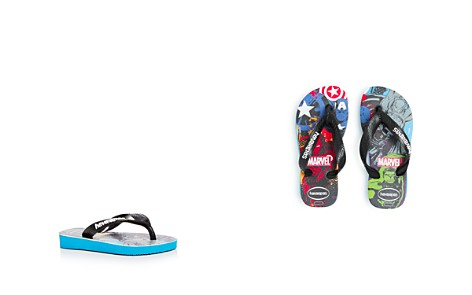 havaianas Boys' Marvel Flip-Flops - Walker, Toddler, Little Kid - Bloomingdale's_2