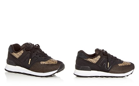 New Balance Women's 574 Tech Raffia Lace Up Sneakers - Bloomingdale's_2