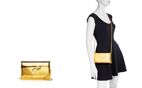 Giuseppe Zanotti Leather Clutch - Bloomingdale's_2