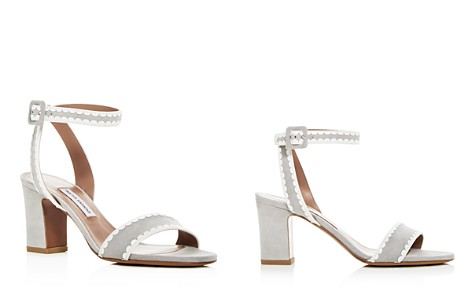 Tabitha Simmons Women's Leticia Suede Scallop Trim High-Heel Sandals - Bloomingdale's_2