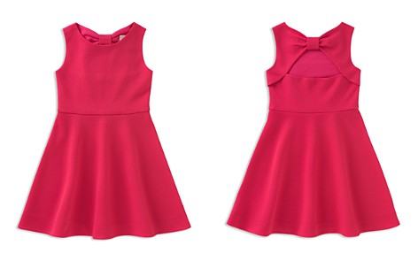 kate spade new york Girls' Vivian Textured Bow Dress - Little Kid - Bloomingdale's_2