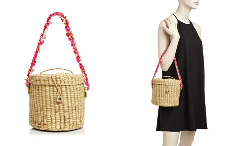 Nannacay Ana Cherry-Blossom Straw Bucket Bag - Bloomingdale's_2