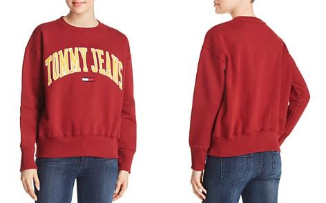 Tommy Jeans Collegiate Embroidered Logo Sweatshirt - Bloomingdale's_2