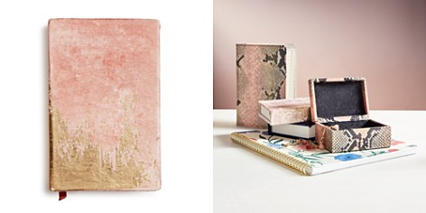 Print Fresh Abstract Daybreak Small Velvet Journal - Bloomingdale's_2