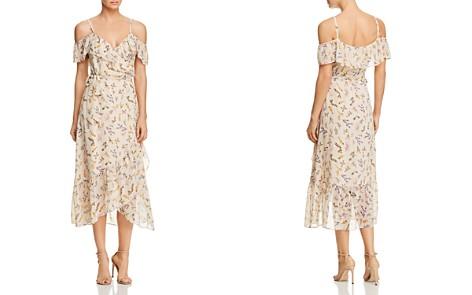 Rebecca Minkoff Jessica Ruffled Floral-Print Midi Wrap Dress - Bloomingdale's_2