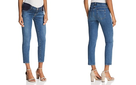 J Brand Mama J Maternity Cigarette Crop Jeans in Lovesick - Bloomingdale's_2