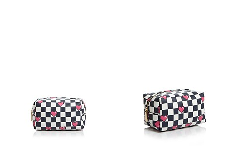 Skinnydip London Checkered Makeup Bag - 100% Exclusive - Bloomingdale's_2