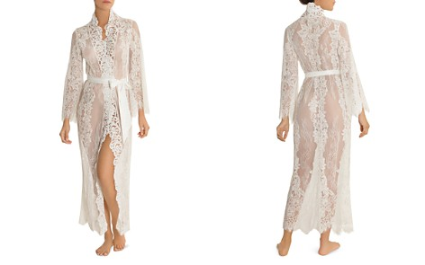Jonquil Long Lace Robe - Bloomingdale's_2