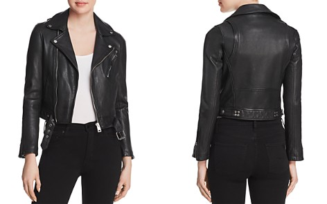 Maje Bostep Leather Jacket - 100% Exclusive - Bloomingdale's_2