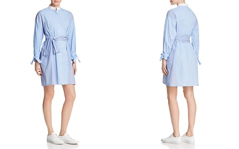 Maje Carty Striped Shirt Dress - 100% Exclusive - Bloomingdale's_2