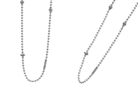 "LAGOS Sterling Silver Caviar Icon Necklace, 16"" - Bloomingdale's_2"
