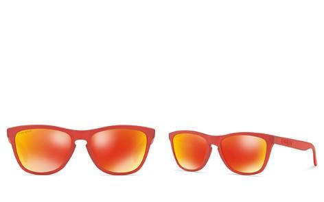 Oakley Frogskins Prizm Sunglasses, 55mm - Bloomingdale's_2