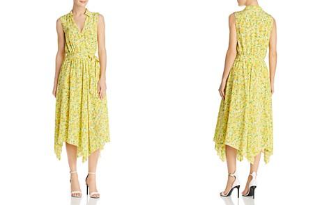 Boutique Moschino Lemon-Print Silk Wrap Dress - Bloomingdale's_2