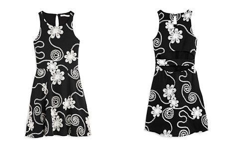 Miss Behave Girls' Jessica Embroidered Floral Dress - Big Kid - Bloomingdale's_2