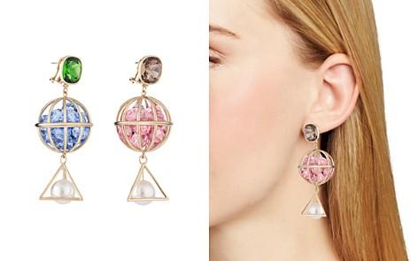 Atelier Swarovski x Mary Katrantzou Nostalgia Geometric Drop Earrings - Bloomingdale's_2