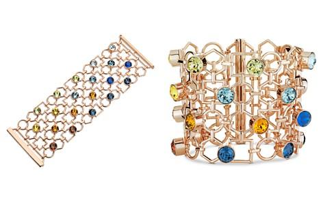 Atelier Swarovski x Mary Katrantzou Nostalgia Wide Openwork Link Bracelet - Bloomingdale's_2