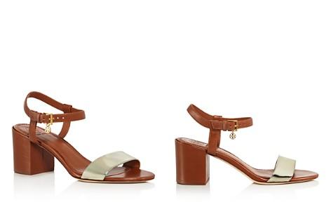 Tory Burch Women's Laurel Leather Block Heel Sandals - Bloomingdale's_2