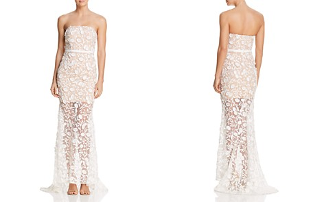 Jarlo Henna Strapless Illusion Gown - 100% Exclusive - Bloomingdale's_2