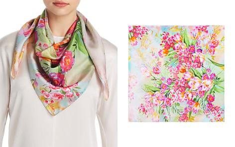 Echo Tulip Print Silk Scarf - Bloomingdale's_2