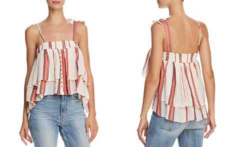 Muche et Muchette Paradise Striped Tiered Top - Bloomingdale's_2